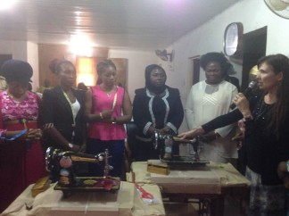 Dedication of Sewing Machines in Jos Nigeria