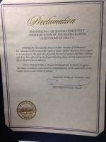 Banda certificate